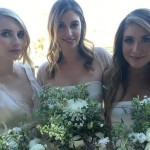 Emma Roberts perfectly fulfilled her bridesmaid duties as co-maid of honor at the wedding of her bestie, fashion designer Kara Smith. (Photo: Instagram)