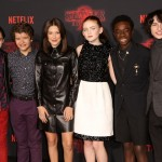 Stranger Things cast—They've become a pop-culture sensation. The all-under-16 cast won has won an SAG and MTV award for their outstanding work on the series. (Photo: WENN)