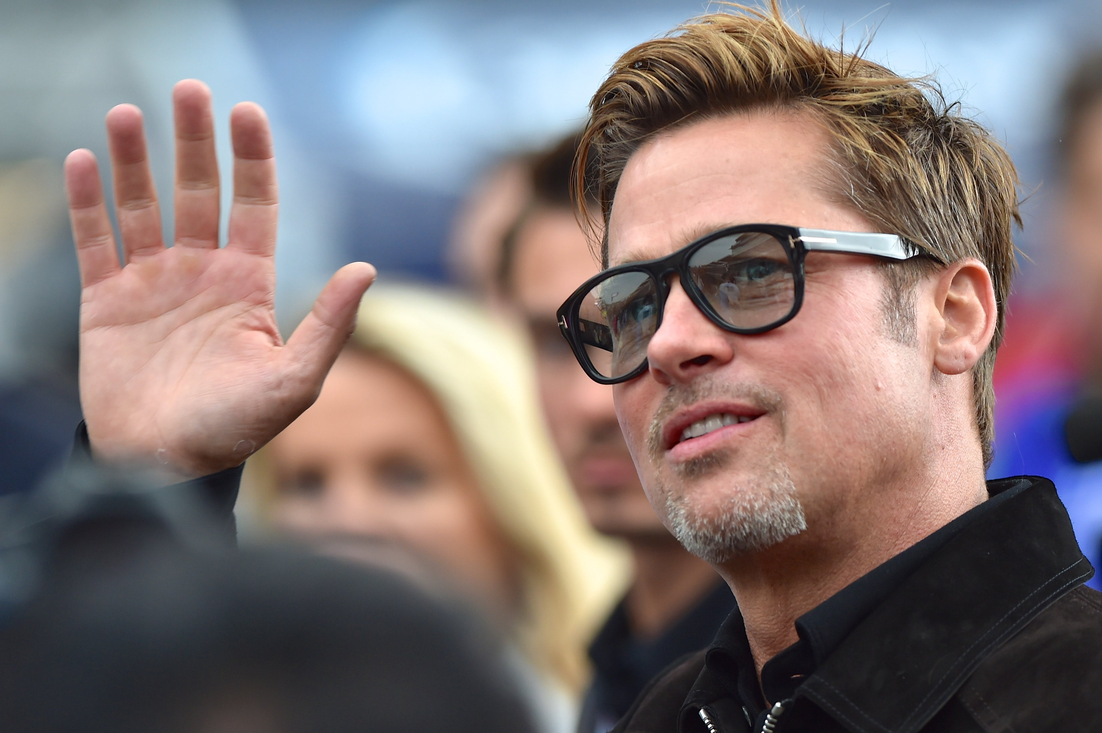 Brad Pitt goes by William when he flirts with a woman. (Photo: WENN)