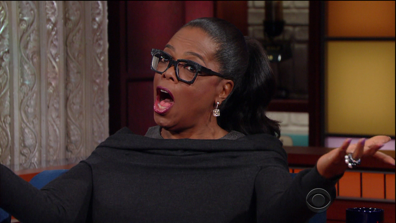 The obviously over retouched pictures have, of course, sparked reactions on social media. Click through to check some of the best—including Oprah and Reese's own responses. (Photo: WENN)