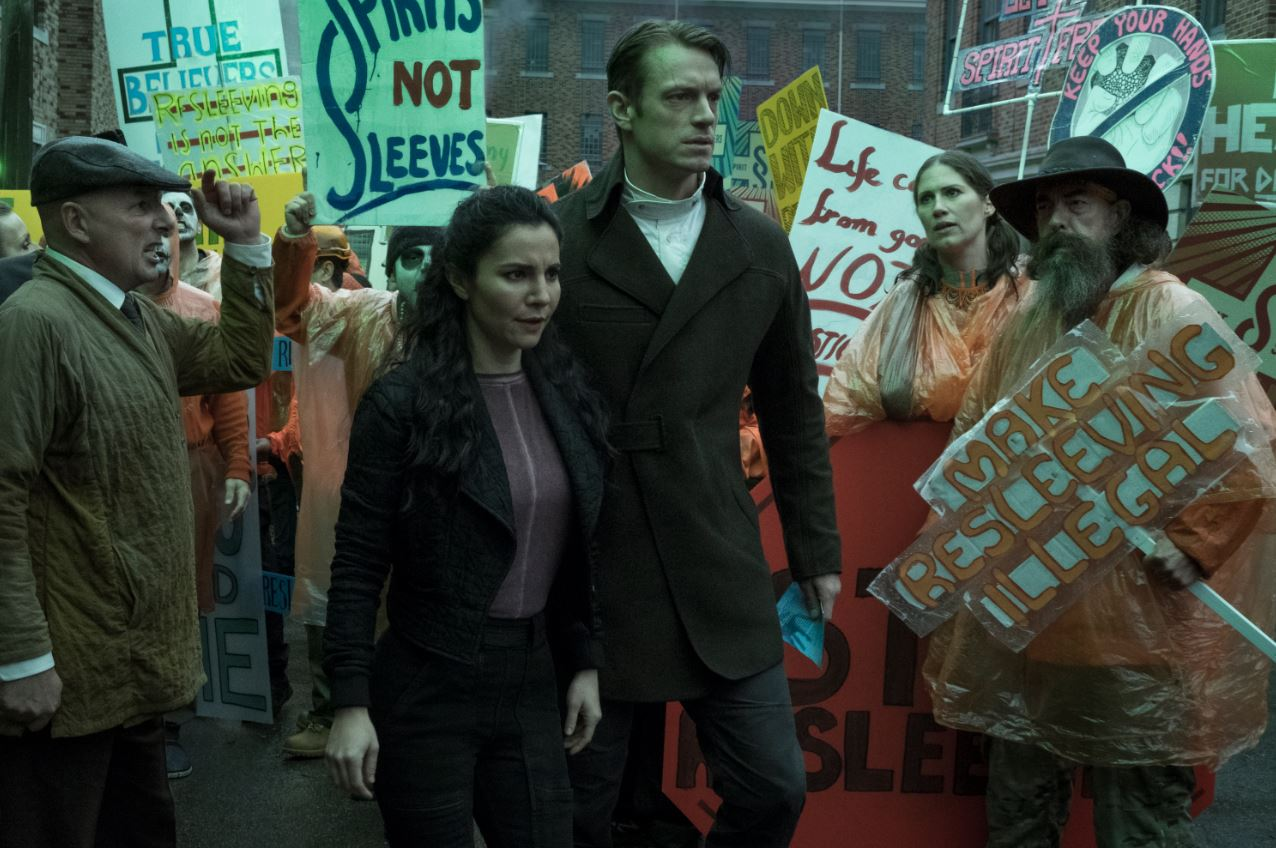 """The first season of """"Altered Carbon"""" a Netflix original series, premieres on February 2. (Photo: Release)"""