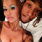 The father of her son is rapper Wiz Khalifa. (Photo: Twitter)