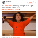 WE ALL GET CAKE! (Photo: Twitter)