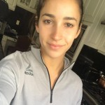 """""""Thanks for forcing me to learn to love myself and my body, my muscular arms that were considered weird and gross when I was younger have made me one of the best gymnasts on the planet. Don't ever let anyone tell you how you should or shouldn't look,"""" wrote Alexandra Raisman. (Photo: Instagram)"""