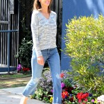 Mom jeans slowly disappeared from the 90's, but thankfully they're coming back! Even celebs (and literal moms) like Alessandra Ambrosio are starting to wear them again. (Photo: WENN)