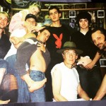 Orlando Bloom shared this throwback picture of the time he and the rest of the Lord of the Rings cast got matching tattoos to celebrate the end of filming. (Photo: Instagram)