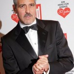 """George Clooney at """"A Heat for Children"""" charity gala in Germany. (Photo: WENN)"""