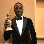 He also shared a picture after winning a Golden Globe and becoming the first-ever black man to win the prize for best actor in a TV drama. (Photo: Instagram)