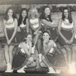 Long before she was cheering on her husband, Chrissy Teigen was a high school cheerleader, as proven in this throwback photo with her full squad. (Photo: Instagram)