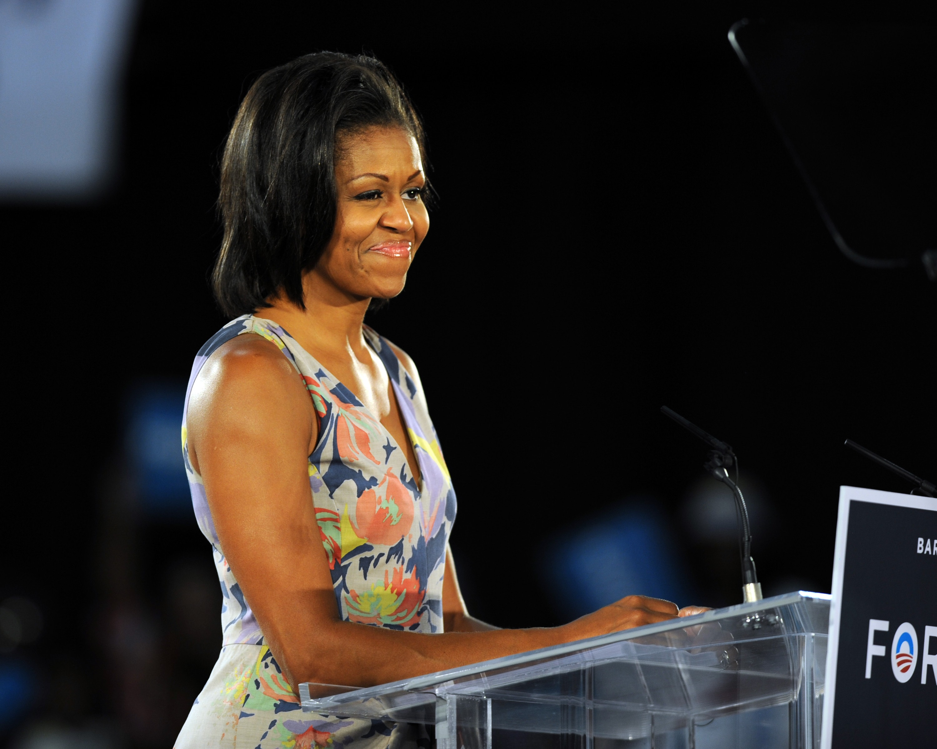 These are only some of the many reasons why Michelle Obama is every women's goals. Including us! (Photo: WENN)