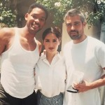 Salma Hayek shared an epic throwback picture celebrating her longtime friend George Clooney's birthday. Will Smith also made a special appearance. (Photo: Instagram)