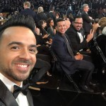 "The ""Despacito"" singer couldn't resist a selfie during the ceremony. (Photo: Instagram)"