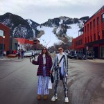 The beautiful Bella and Gigi Hadid waiting for the New Year in Aspen, Colorado. (Photo: Instagram)
