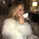Mariah Carey found her tea for NYE. (Photo: Instagram)