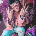 Mod Sun is a rapper whose upbeat music is all about happiness, love, and smoking a lot of weed. (Photo: Instagram)