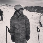 Joe Jonas shared a black and white picture of his weekend on the mountains. (Photo: Instagram)