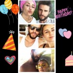 Miley Cyrus wished fiancée Liam Hemsworth a happy birthday over the weekend. (Photo: Instagram)