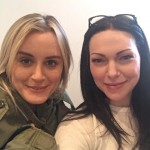 Shooting of the sixth season of Orange Is The New Black doesn't feel like work according to Laura Prepon and Taylor Schilling. (Photo: Instagram)