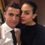 Cristiano Ronaldo and new mom Georgina Rodriguez wrapping up a great year together. (Photo: Instagram)