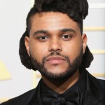 The Weeknd sporting his iconic hairdo at the red carpet of the 2016 Grammy awards. (Photo: WENN)