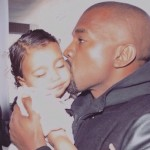 Because Kanye will fill her with kisses! (Photo: Instagram)