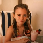 "Lily Collins reminisced on her early days in a throwback photo of her childhood in ""Sunny Southern California."" (Photo: Instagram)"