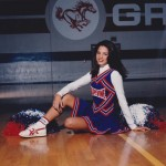 Jenna Dewan Tatum celebrated throwback Thursday with a photo of her cheerleading days wearing her Grapevine High uniform. (Photo: Instagram)