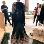 Designer Christian Siriano revealed Kelly Clarkson's Grammy Awards gown before she hit the red carpet. (Photo: Instagram)