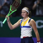The news comes a couple of weeks after losing against the French Open champion, Jelena Ostapenko, in an exhibition game. (Photo: Instagram)