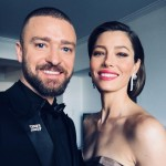 Justin Timberlake and Jessica Biel looked like a picture-perfect couple in this selfie Timberlake snapped right before the ceremony. (Photo: Instagram)