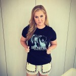 """""""Is it fat shaming if you know you're not fat and have zero shame in your fame? I don't think so,"""" wrote funny girl Amy Schumer under an Instagram post. (Photo: Instagram)"""