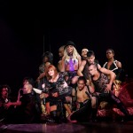 The show is a review of Spears' most iconic hits, accompanied by elaborate choreographies and costumes. (Photo: WENN)