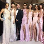 When Brazilian covergirl Ana Beatriz Barros tied the knot, Alessandra Ambrosio and many other supermodels transformed the wedding aisle into a runway! (Photo: Instagram)