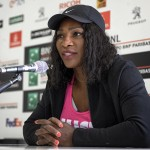 """It's good to be back on the court,"" Serena said of the match despite her defeat. (Photo: WENN)"
