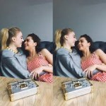 Maisie Williams and co-star Sophie Turner became best friends on the set of Game of Thrones. (Photo: Instagram)