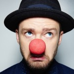 Because he does a lot of philanthropic work. Like that time he wore a Red Nose to help end child poverty. (Photo: Instagram)