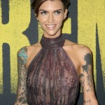 Ruby Rose was born in Melbourne, Australia. In fact, she emerged in the media spotlight as a present on MTV Australia. (Photo: WENN)