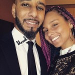 """The day you were born I never could've known how my life would change and love would be a word synonymous with your name!"" Alicia Keys wrote to husband Swizz Beatz on his birthday. (Photo: Instagram)"