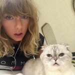 Taylor Swift also competes with an honorary nomination for her cat Olivia, in the brand-new category Cutest Musician's Pet. (Photo: Instagram)