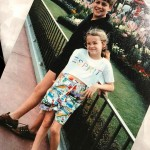 In case you couldn't tell by her sprit logo T-shirt and printed Bermuda shorts, this was the '80s and Reese Witherspoon was a trendsetter already. (Photo: Instagram)