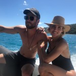 """He has never failed to make me feel like his family is the most important thing to him and that is how we've become so strong together,"" Elsa Pataky said of his relationship with Chris Hemsworth. (Photo: Instagram)"