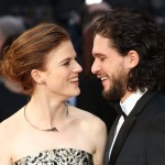 Kit Harington and his fiancée Rose Leslie also met on the set of Game of Thrones. (Photo: WENN)
