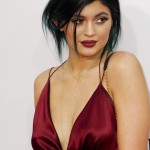 Dark lipstick, preferably in shades like brown or burgundy, like the one Kylie Jenner wore to the American Music Awards. (Photo: WENN)