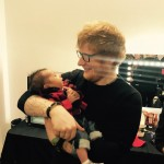 """""""I'm ready, let's do it-a tour full of babies, chubby babies, walking around,"""" Sheeran said in an interview when asked about starting a family with Cherry. (Photo: Instagram)"""