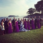 Sarah Jessica Parkes was one of her assistant Melinda Relyea's bridesmaids! Unfortunately, when Carrie Bradshaw at your wedding, she might upstage you a bit! (Photo: Instagram)