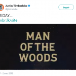 Justin Timberlake is back! (Photo: Twitter)