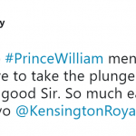 Well done, Prince William! (Photo: Twitter)