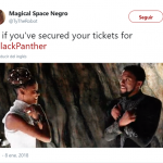 Tickets secured! (Photo: Twitter)