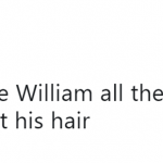 The real reason why he's rocking this new do. (Photo: Twitter)