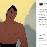 Let's just take a minute to appreciate the fact that it was Li Shang who originally invented the entire look. (Photo: Instagram)